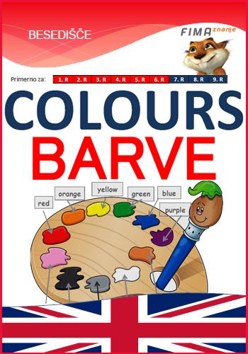 COLOURS - Barve