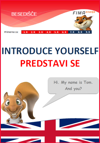 INTRODUCE YOURSELF - Predstavi se