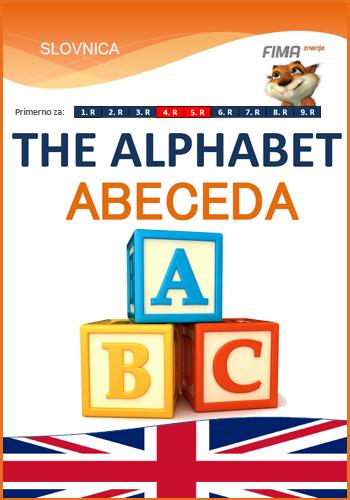 THE ALPHABET (ABC) - Abeceda