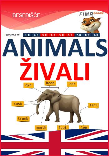 ANIMALS - Živali