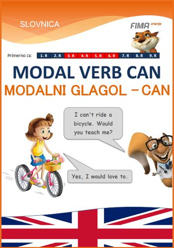 CAN – Modalni glagol CAN